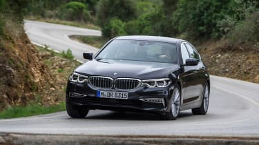 New BMW 5 Series - front cornering
