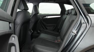 Audi A4 Avant rear seats