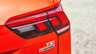 Volkswagen Tiguan Allspace - rear light detail
