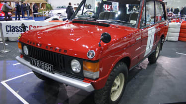 Range Rover at the London Classic Car Show