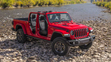 Jeep Gladiator front quarter static