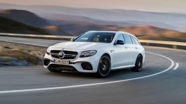 Mercedes-AMG E 63 Estate - front cornering