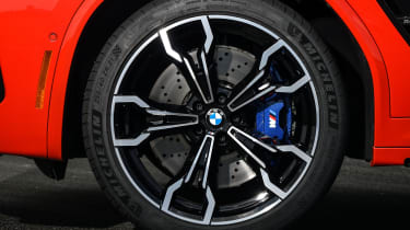 BMW X4 M Competition - wheel