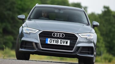 Audi A3 - front cornering