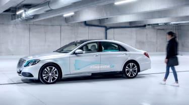 Mercedes Co-operative car - side