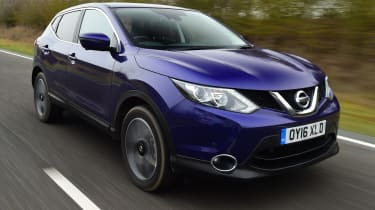 Nissan Qashqai 1.2 DIG-T 2017 - front tracking