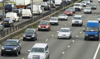 Diesel motorway pollution smog traffic