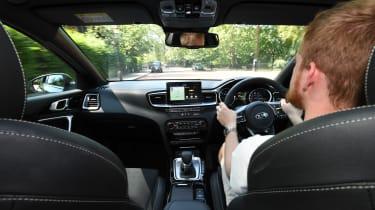 Kia Ceed long term - interior