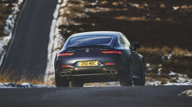 Mercedes-AMG GT 4-Door Coupe rear