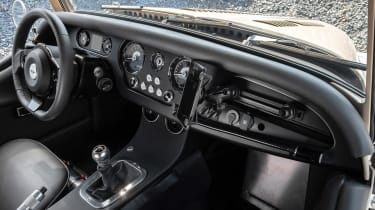 Morgan Plus Four CX-T - dash