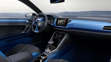 VW T-ROC concept 2014 interior