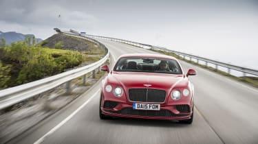 Bentley Contintental GT Speed 2015 nose