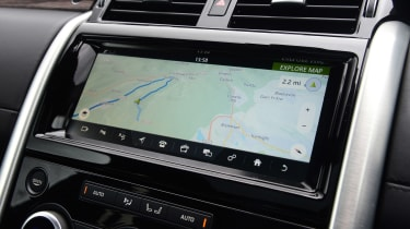 Land Rover Discovery - sat-nav