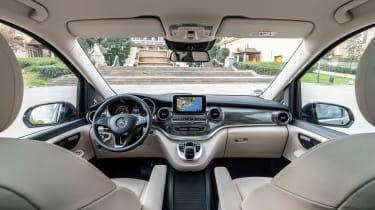 Mercedes V-Class - cabin