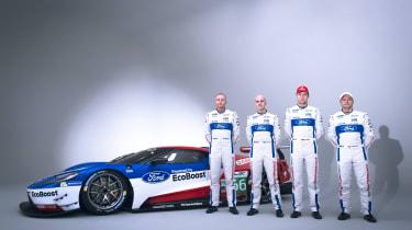 New Ford GT Le Mans car