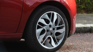 Renault ZOE - wheel detail