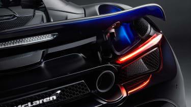 McLaren 720S Spider by MSO - rear light