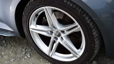Audi A4 long-term test - wheel detail