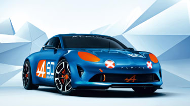 Renault Alpine - static front