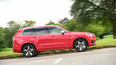 Volvo XC90 long-term test - side profile