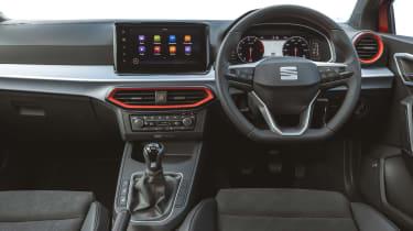 SEAT Ibiza facelift - dash