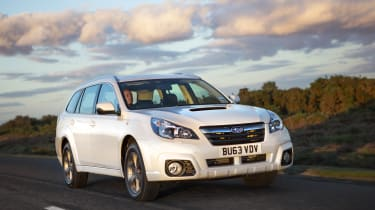 Subaru Outback front tracking