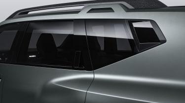 Dacia Bigster - window