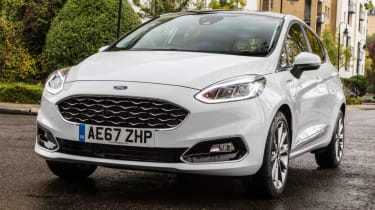 Ford Fiesta Vignale - front grille
