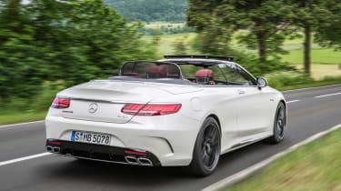 Mercedes-AMG S 63 Cabriolet - rear