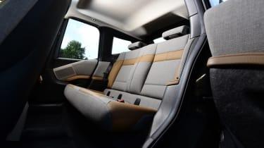 Long-term test review: BMW i3 REx rear seats