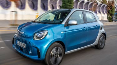 Smart EQ ForFour - front tracking