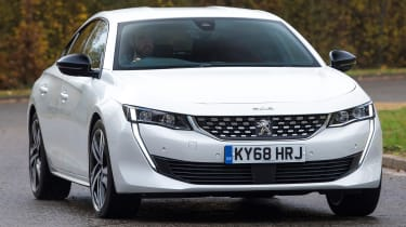 peugeot 508 driving front