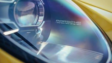 Porsche 911 - front light detail