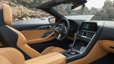 BMW M8 Competition Convertible - cabin