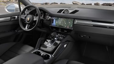 Porsche Cayenne Turbo - dash