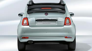 Fiat 500 hybrid - rear