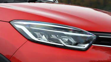 Renault captur headlight
