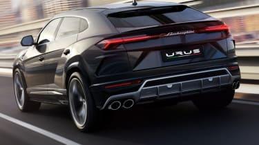 Lamborghini Urus - grey rear