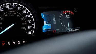 Ford Ranger Raptor - dials