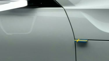 Volvo concepts - Swedish flag detail