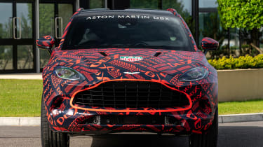 Aston Martin DBX - pre-production model  - front