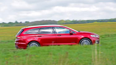Ford Mondeo Hybrid Estate - side