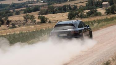 Porsche Cayenne prototype - rear off-road