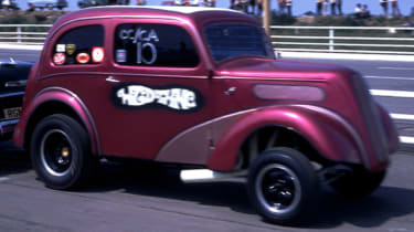 1955 Ford Popular drag racer wild thing front