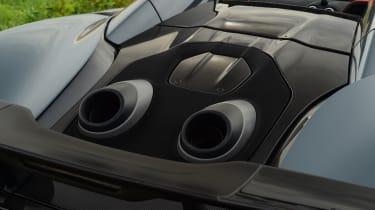 McLaren 600LT Spider - exhausts