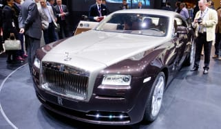 Rolls-Royce Wraith front three-quarters