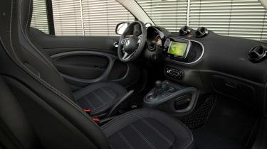 Smart ForTwo Electric Drive Cabrio - interior