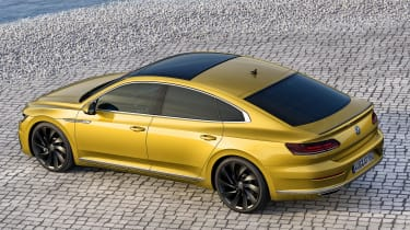 Volkswagen Arteon official - R-Line rear quarter