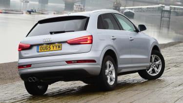 Audi Q3 group test - rear quarter