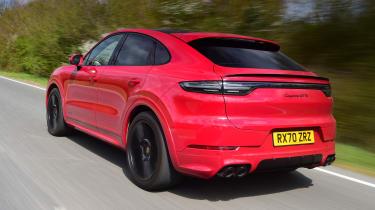 Porsche Cayenne Coupe GTS - rear